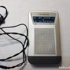 Radios antiguas: RADIO AIWA MODELO GR-AS60 FUNCIONANDO. Lote 206513461