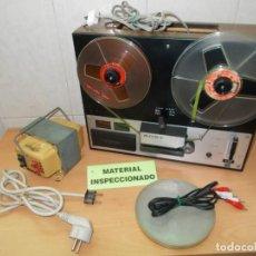 Radios antiguas: ENVIO CON TC: 8€ FUNCIONANDO SONY MAGNETOFON RETRO & VINTAGE,JAPAN.MAGNETOFONO DE BOBINAS A 125V. Lote 206776772