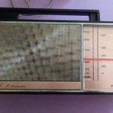 Radios antiguas: AM FM 10 TRANSISTOR PHILIPS - FUNCIONA. Lote 206802112