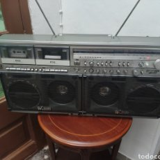 Radios antiguas: RADIOCASSETTE BOOMBOX GHETTO BLASTER SHARP GF-777 VINTAGE. Lote 207129153