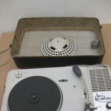 Radios antiguas: ANTIGUO TOCADISCO TEPPAZ. BI BALAD. Lote 207434438