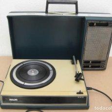 Radios antiguas: ANTIGUO TOCADISCO PHILIPS. Lote 207612730