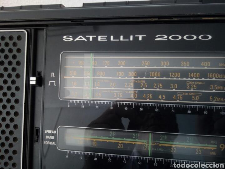 Radios antiguas: RADIO MULTIBANDAS GRUNDIG SATELLIT 2000 - Foto 19 - 129255111