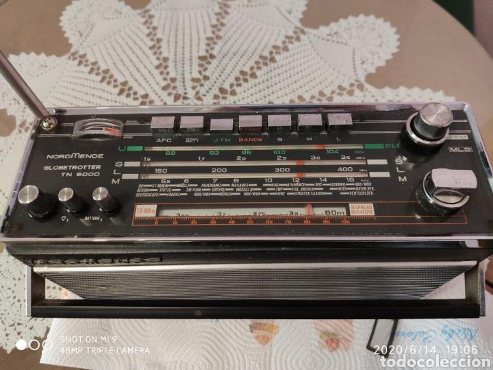 Radios antiguas: ÚNICO, MAJESTUOSA RADIO NORMENDE GLOBETROTTER TN 6000 - Foto 3 - 208174648