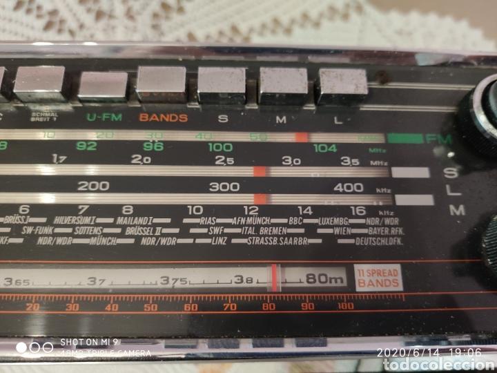 Radios antiguas: ÚNICO, MAJESTUOSA RADIO NORMENDE GLOBETROTTER TN 6000 - Foto 5 - 208174648