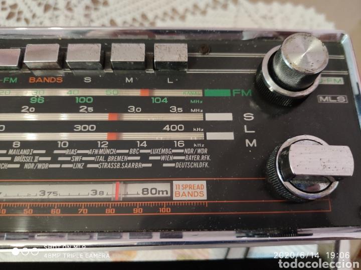 Radios antiguas: ÚNICO, MAJESTUOSA RADIO NORMENDE GLOBETROTTER TN 6000 - Foto 6 - 208174648