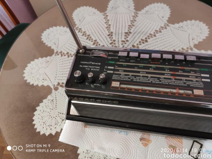 Radios antiguas: ÚNICO, MAJESTUOSA RADIO NORMENDE GLOBETROTTER TN 6000 - Foto 8 - 208174648