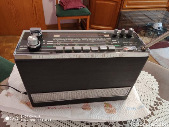 Radios antiguas: ÚNICO, MAJESTUOSA RADIO NORMENDE GLOBETROTTER TN 6000 - Foto 12 - 208174648