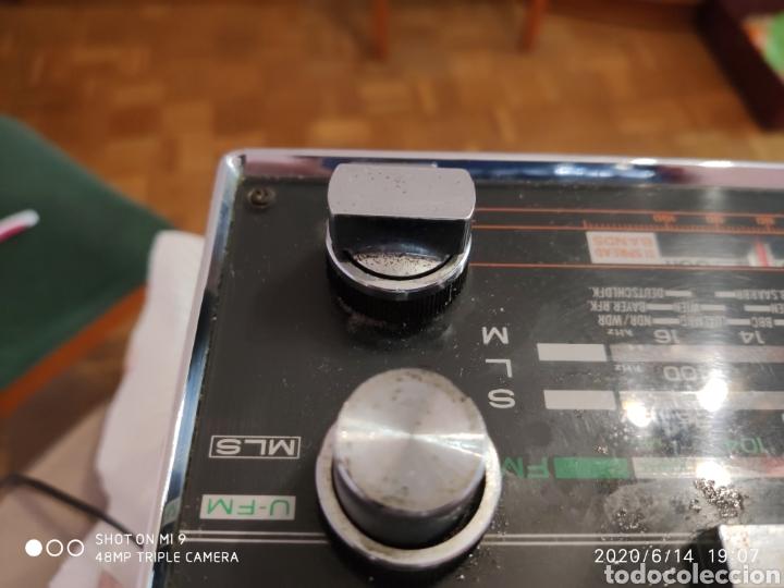 Radios antiguas: ÚNICO, MAJESTUOSA RADIO NORMENDE GLOBETROTTER TN 6000 - Foto 16 - 208174648