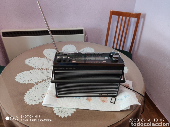 Radios antiguas: ÚNICO, MAJESTUOSA RADIO NORMENDE GLOBETROTTER TN 6000 - Foto 18 - 208174648