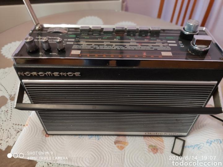 ÚNICO, MAJESTUOSA RADIO NORMENDE GLOBETROTTER TN 6000 (Radios, Gramófonos, Grabadoras y Otros - Transistores, Pick-ups y Otros)