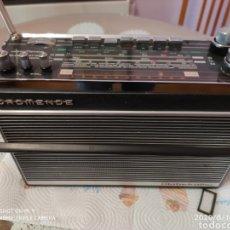 Radios antiguas: ÚNICO, MAJESTUOSA RADIO NORMENDE GLOBETROTTER TN 6000. Lote 208174648