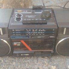 Radios antiguas: RADIO CASSETTE HITACHI.. Lote 209203390