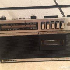 Radios antiguas: LAVIS - RADIO CASSETTE - EN BUEN ESTADO GENERAL - ANTENA DE 2 METROS - 3002. Lote 209562432