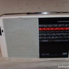 Radios antiguas: RADIO MULTIBANDAS ITT TINY 320. Lote 209802078