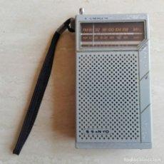 Radios antiguas: RADIO SANYO RD 5065. AM/FM. CON PILAS Y FUNCIONANDO. DESGASTE PROPIO DE SU ANTIGÜEDAD. Lote 209825131