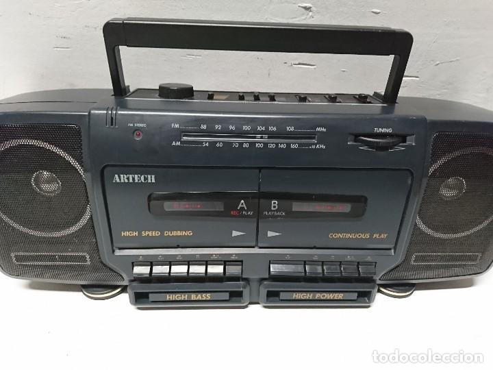 RADIO CASSETTE ARTECH DCR333 (Radios, Gramófonos, Grabadoras y Otros - Transistores, Pick-ups y Otros)