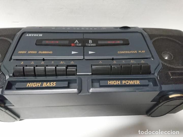 Radios antiguas: Radio Cassette Artech DCR333 - Foto 3 - 209894435