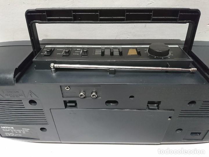 Radios antiguas: Radio Cassette Artech DCR333 - Foto 4 - 209894435