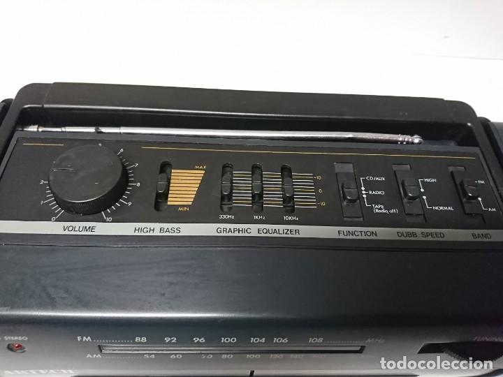 Radios antiguas: Radio Cassette Artech DCR333 - Foto 5 - 209894435