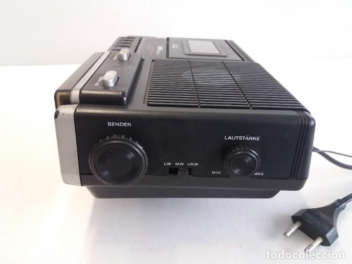 Radios antiguas: BUEN RADIO CASSETTE CASETTE SAMWA 50003A-LW AÑOS 80´S ANTIGUO CASETE ALEMAN - Foto 6 - 209963168