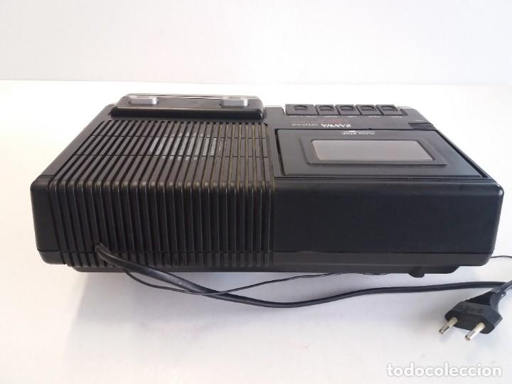Radios antiguas: BUEN RADIO CASSETTE CASETTE SAMWA 50003A-LW AÑOS 80´S ANTIGUO CASETE ALEMAN - Foto 7 - 209963168