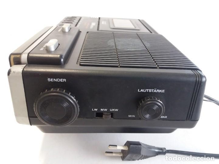 Radios antiguas: BUEN RADIO CASSETTE CASETTE SAMWA 50003A-LW AÑOS 80´S ANTIGUO CASETE ALEMAN - Foto 14 - 209963168