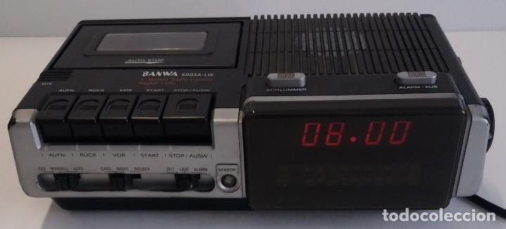 Radios antiguas: BUEN RADIO CASSETTE CASETTE SAMWA 50003A-LW AÑOS 80´S ANTIGUO CASETE ALEMAN - Foto 15 - 209963168
