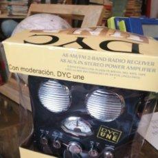 Radios antiguas: RADIO AMPLIFICADORA DYC A ESTRENAR. Lote 210240830