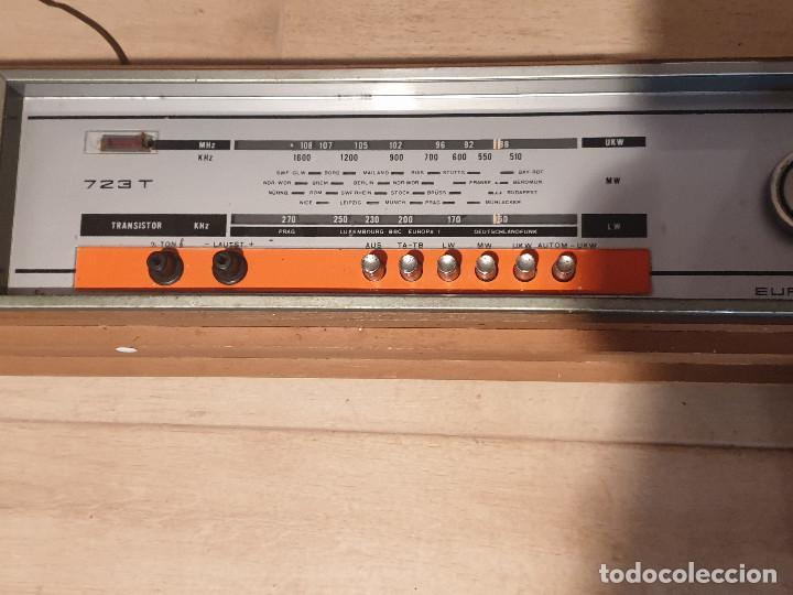 """Radios antiguas: RADIO VINTAGE MARCA """"EUROPHON"""" MODELO 723 T. - Foto 6 - 210520086"""