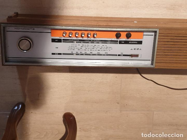 """Radios antiguas: RADIO VINTAGE MARCA """"EUROPHON"""" MODELO 723 T. - Foto 8 - 210520086"""