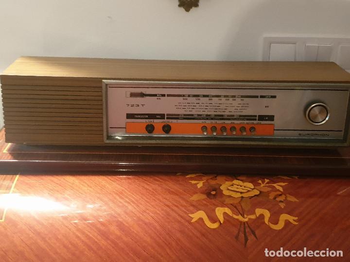 """Radios antiguas: RADIO VINTAGE MARCA """"EUROPHON"""" MODELO 723 T. - Foto 15 - 210520086"""