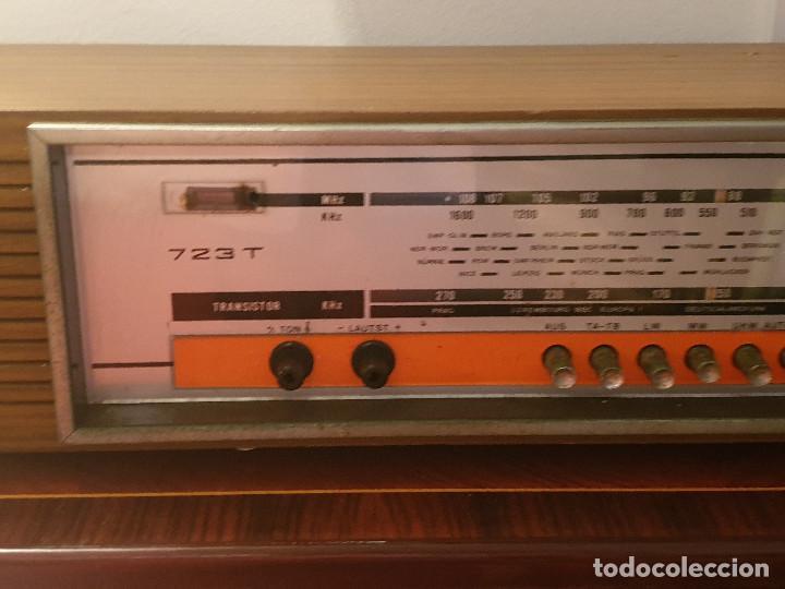 """Radios antiguas: RADIO VINTAGE MARCA """"EUROPHON"""" MODELO 723 T. - Foto 14 - 210520086"""