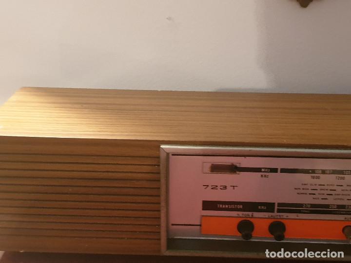 """Radios antiguas: RADIO VINTAGE MARCA """"EUROPHON"""" MODELO 723 T. - Foto 18 - 210520086"""