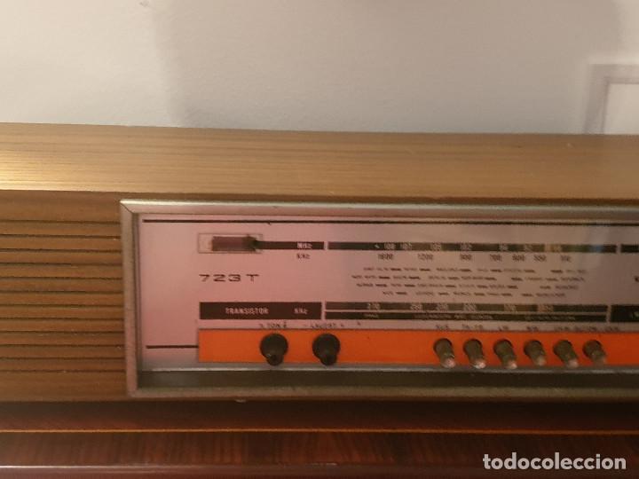 """Radios antiguas: RADIO VINTAGE MARCA """"EUROPHON"""" MODELO 723 T. - Foto 17 - 210520086"""
