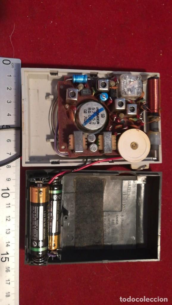 Radios antiguas: RADIO TRANSISTOR CAHUE INDUSTRIAL FUNCIONA - Foto 3 - 210554511