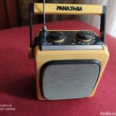Radios antiguas: TRANSISTOR AM /FM VINTAGE DE DISEÑO, FUNCIONANDO. MEDIDAS VER FOTOS INTERIOR.. Lote 211263614