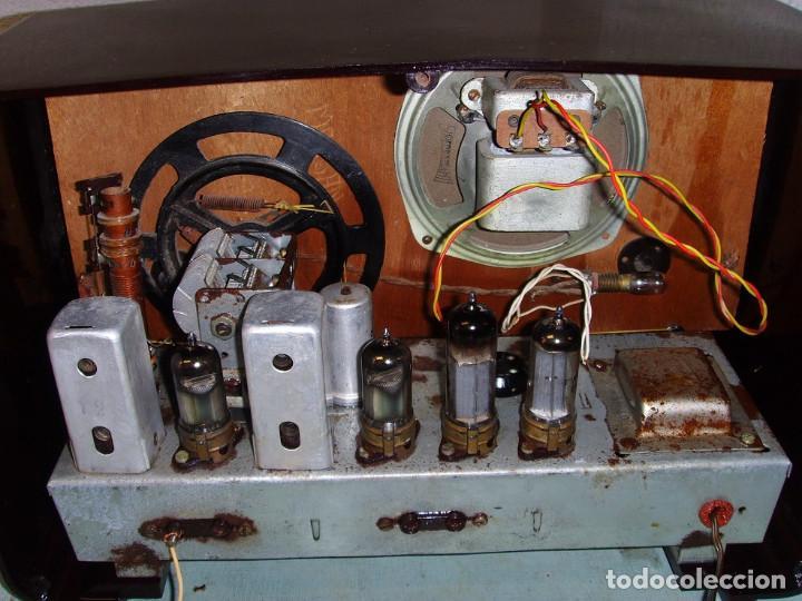 Radios antiguas: RADIO A VALVULAS SIN MARCA - Foto 3 - 211723161