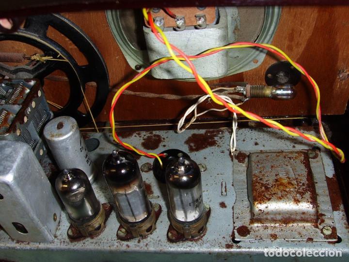 Radios antiguas: RADIO A VALVULAS SIN MARCA - Foto 7 - 211723161
