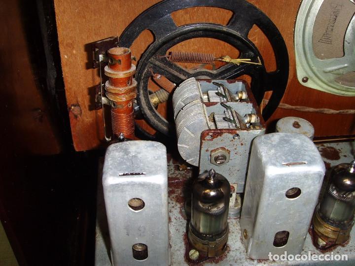 Radios antiguas: RADIO A VALVULAS SIN MARCA - Foto 10 - 211723161