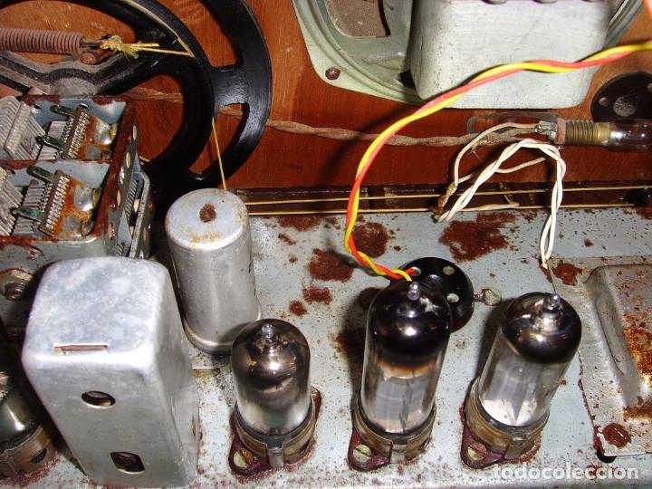 Radios antiguas: RADIO A VALVULAS SIN MARCA - Foto 13 - 211723161