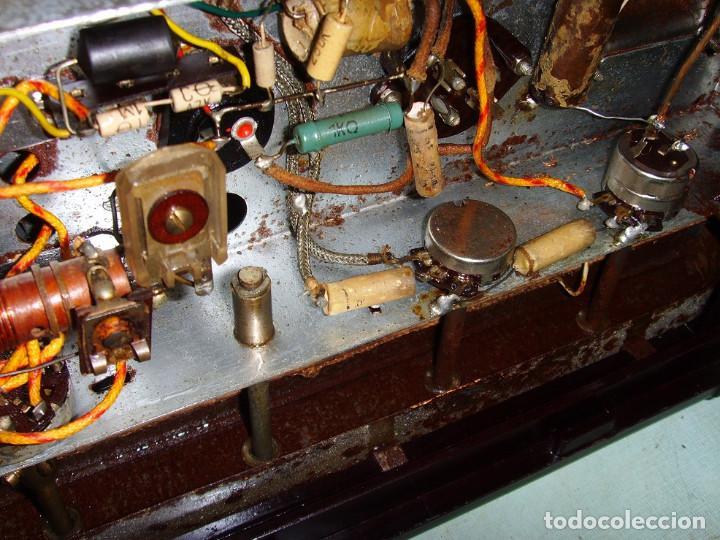 Radios antiguas: RADIO A VALVULAS SIN MARCA - Foto 19 - 211723161