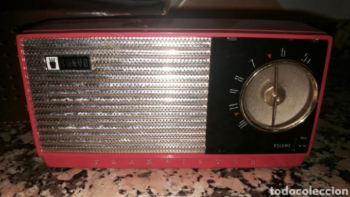Radios antiguas: ANTIGUO RADIO TRANSITOR FUNDA CUERO - Foto 3 - 212036835