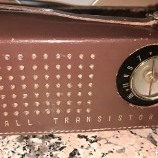 Radios antiguas: ANTIGUO RADIO TRANSITOR FUNDA CUERO. Lote 212036835