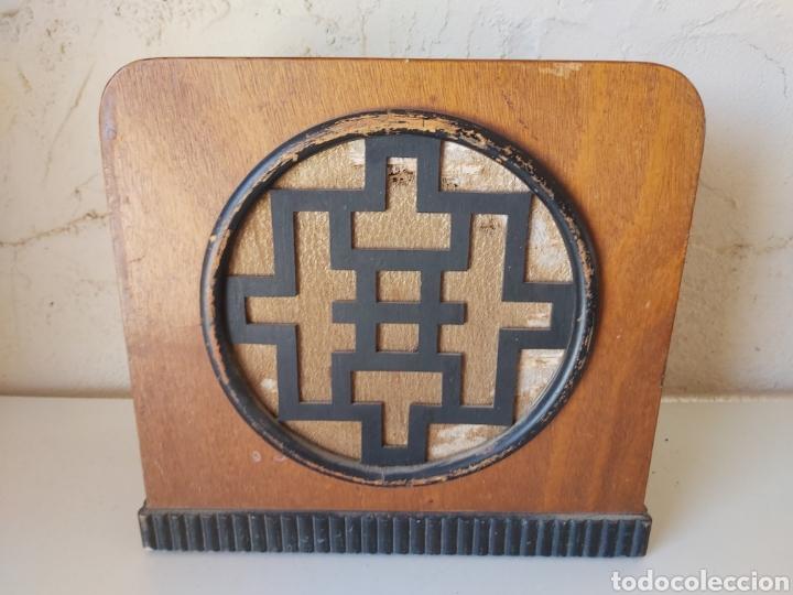 ANTIGUO ALTAVOZ DE MADERA (Radios, Gramófonos, Grabadoras y Otros - Transistores, Pick-ups y Otros)
