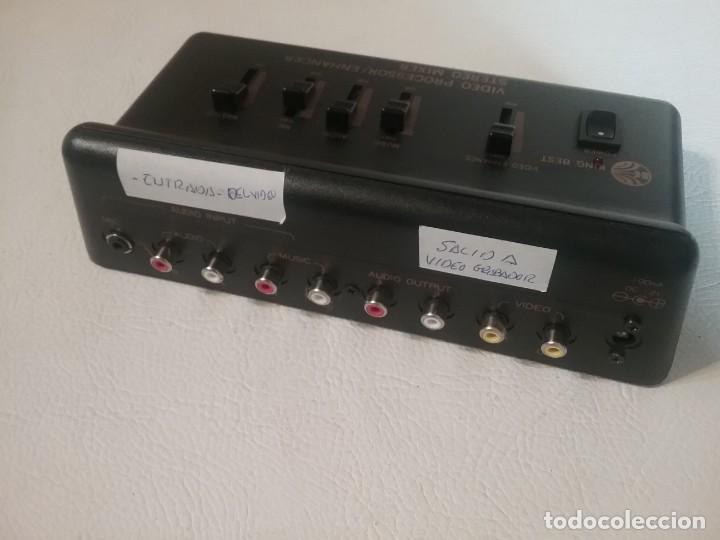 Radios antiguas: Video procesador estéreo mixer KING BEST. - Foto 3 - 212183752
