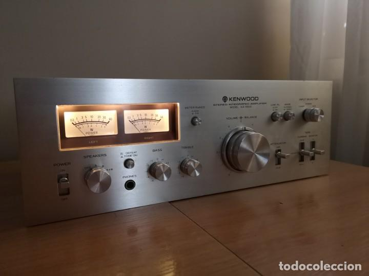 Radios antiguas: amplificador audio epoca dorada KENWOOD KA-5500 - Foto 4 - 212487078