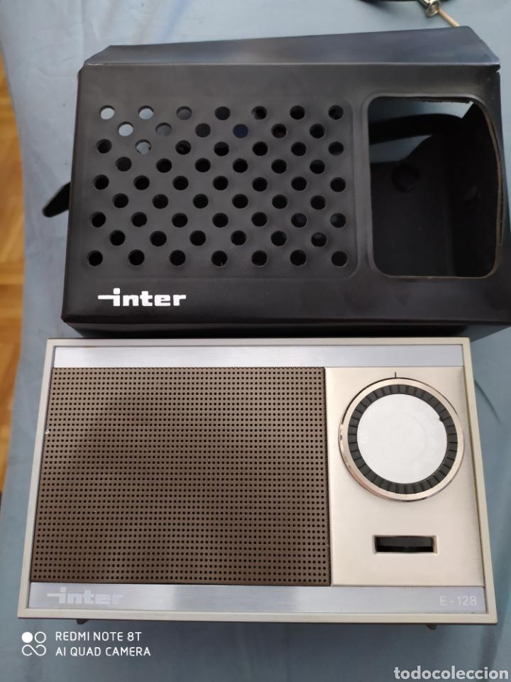 RADIO TRANSISTOR INTER E- 128 COMO NUEVO (Radios, Gramófonos, Grabadoras y Otros - Transistores, Pick-ups y Otros)