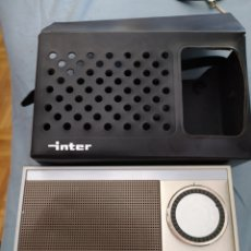 Radios antiguas: RADIO TRANSISTOR INTER E- 128 COMO NUEVO. Lote 212910552