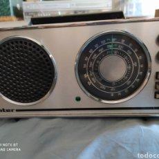 Radios antiguas: RADIO TRANSISTOR INTER EUROMODUL 118 - AÑO 1970 - FUNCIONANDO. Lote 212922431